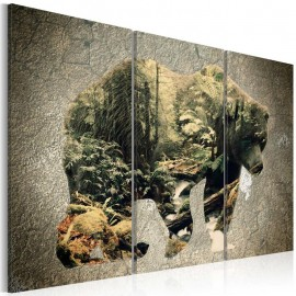 Quadro - The Bear in the Forest
