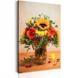 Cuadro - Autumnal Flowers