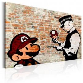 Cuadro - Banksy: Police Caution