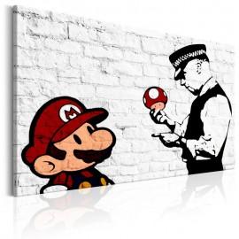 Quadro - Banksy on Brick