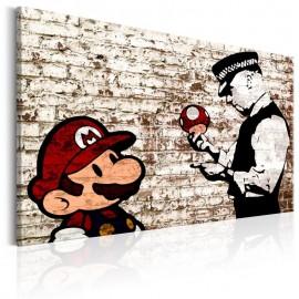 Cuadro - Banksy: Torn Wall