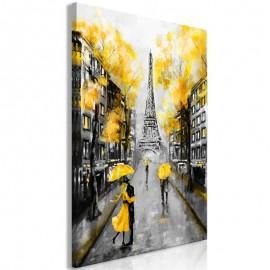 Quadro - Autumn in Paris (1 Part) Vertical