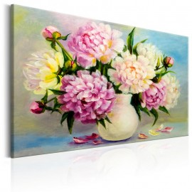 Cuadro - Peonies: Bouquet of Happiness