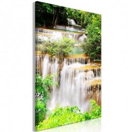 Cuadro - Paradise Waterfall (1 Part) Vertical