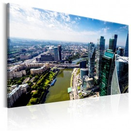 Quadro - Aerial view of Moscow