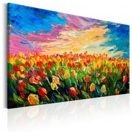 Cuadro - Sea of Tulips