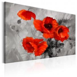Quadro - Steel Poppies