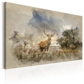 Cuadro - Deer in Field