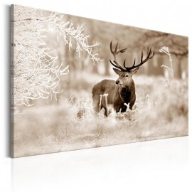 Cuadro - Deer in Sepia