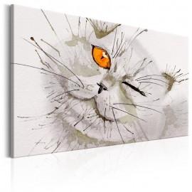 Cuadro - Grey Cat