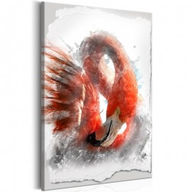 Cuadro - Red Flamingo