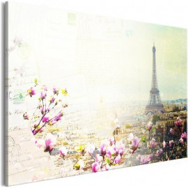 Cuadro - Postcards from Paris (1 Part) Wide