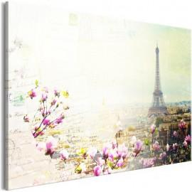 Quadro - Postcards from Paris (1 Part) Wide