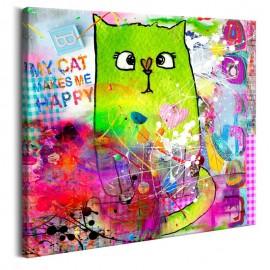 Quadro - Crazy Cat