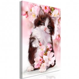 Quadro - Sweet Kitty (1 Part) Vertical