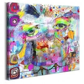 Cuadro - Colourful Owl
