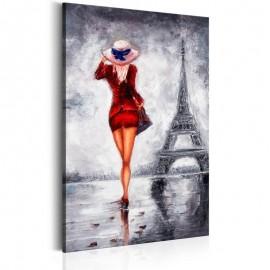 Quadro - Lady in Paris