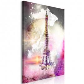 Quadro - Fairytale Paris (1 Part) Vertical