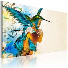 Cuadro - Bird's music