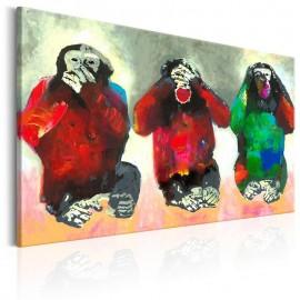 Quadro - Three Wise Monkeys