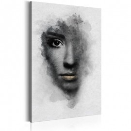 Cuadro - Retrato gris