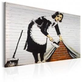 Cuadro - Maid in London by Banksy