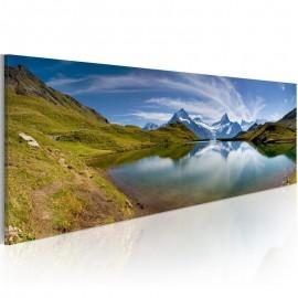 Quadro - Mountain lake