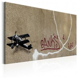 Cuadro - Love Plane by Banksy