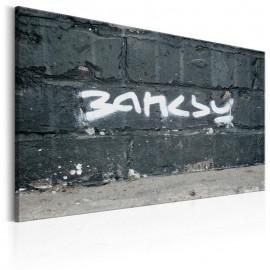 Cuadro - La firma de Banksy