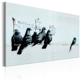 Cuadro - Protesting Birds by Banksy