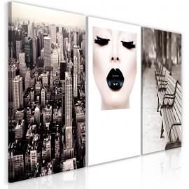 Cuadro - Faces of City (3 Parts)
