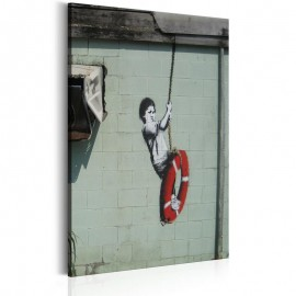 Cuadro - Swinger, New Orleans - Banksy