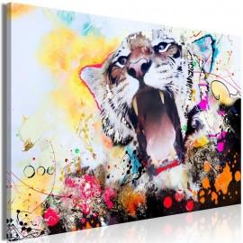 Quadro - Tiger's Roar (1 Part) Wide