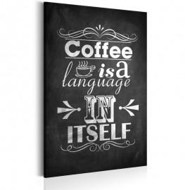 Cuadro - Idioma de café