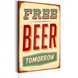 Cuadro - Free Beer Tomorrow