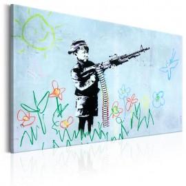 Cuadro - Boy with Gun by Banksy