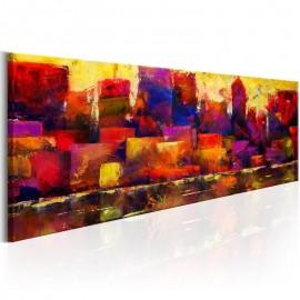 Quadro - Colourful City Skyline