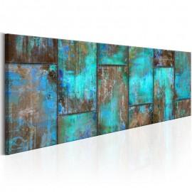 Cuadro - Metal Mosaic: Blue