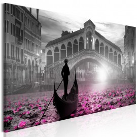 Cuadro - Magic Venice (1 Part) Narrow Grey