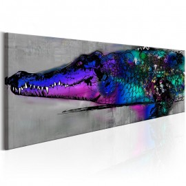 Quadro - Blue Alligator