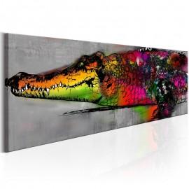 Cuadro - Colourful Alligator