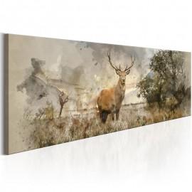 Cuadro - Watercolour Deer