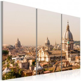 Quadro - Above the roofs of The Eternal City