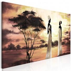Quadro - African Goddesses (1 Part) Narrow