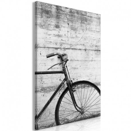 Cuadro - Bicycle And Concrete (1 Part) Vertical