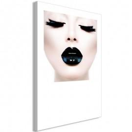 Cuadro - Black Lips (1 Part) Vertical