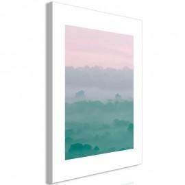 Cuadro - Foggy Dawn (1 Part) Vertical