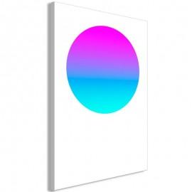 Quadro - Colourful Circle (1 Part) Vertical