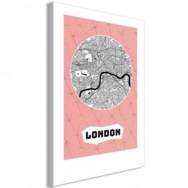 Cuadro - Central London (1 Part) Vertical