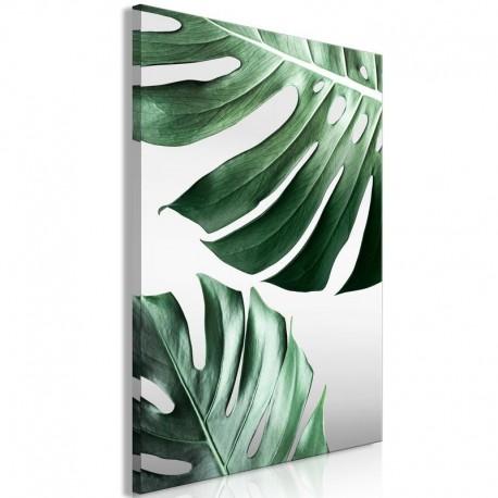 Cuadro - Monstera Leaves (1 Part) Vertical